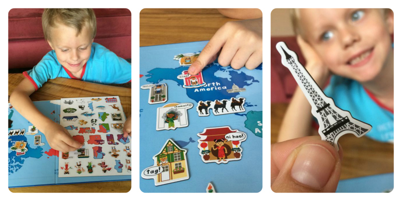 activities for toddler on airplane collage 2