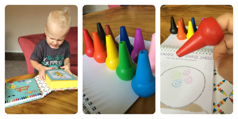 activities for toddler on airplane collage 3