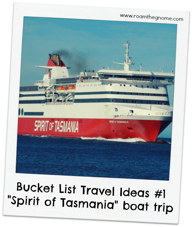 bucket list travel ideas- spirit of tasmania TITLE PIC