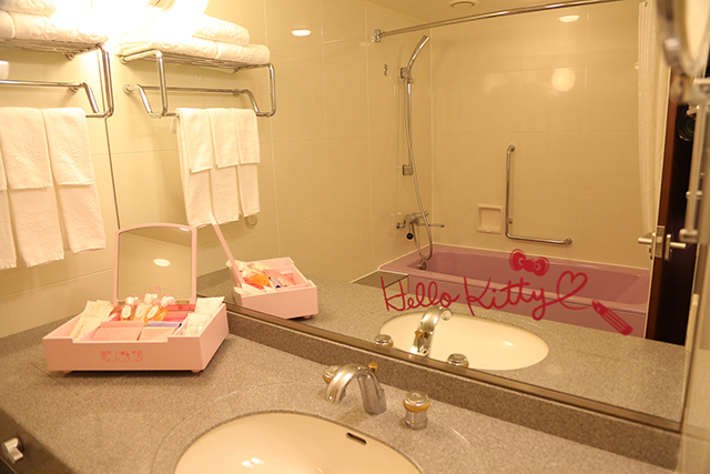 Where to stay in Tokyo with kids- hello kitty hotel signature