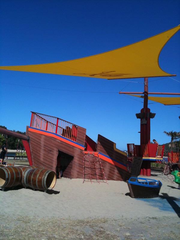 pirate park palm beach ship
