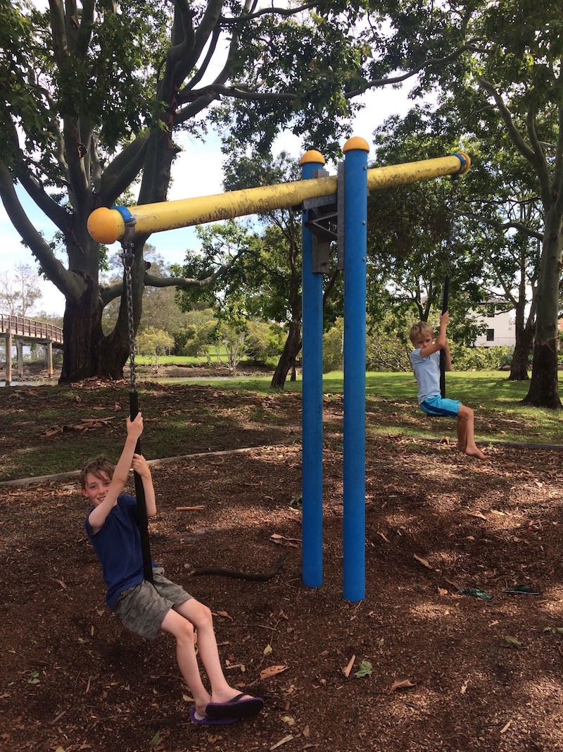 ray pascoe park tweed heads seesaw pic