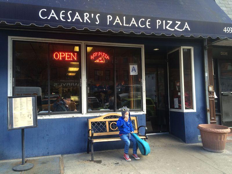 caesars palace pizza ned nyc