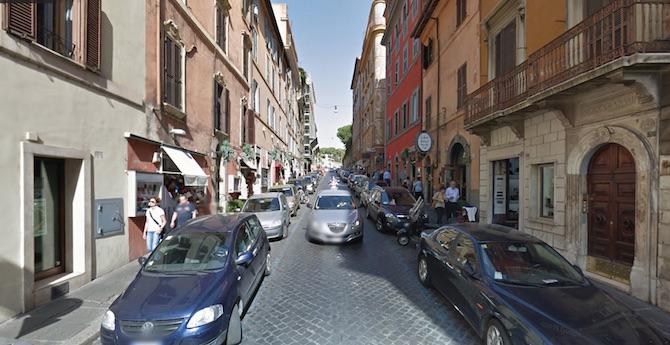 italian leather handbags in rome