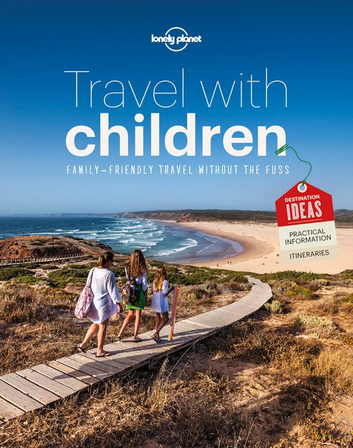 lonely planet travel with children book cover