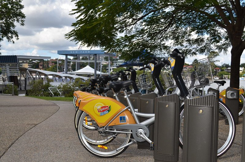 city cycle at new farm by council