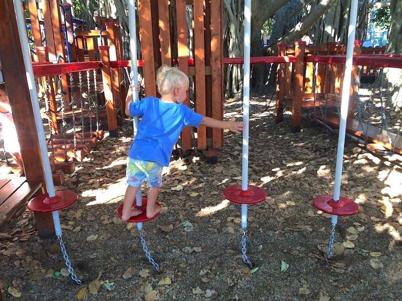 hanging poles pic