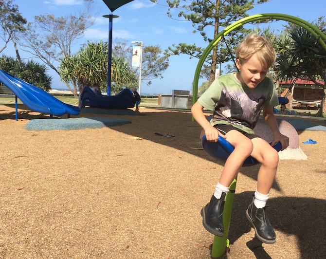 kirra beach playground spinner pic