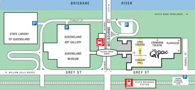 science museum brisbane parking