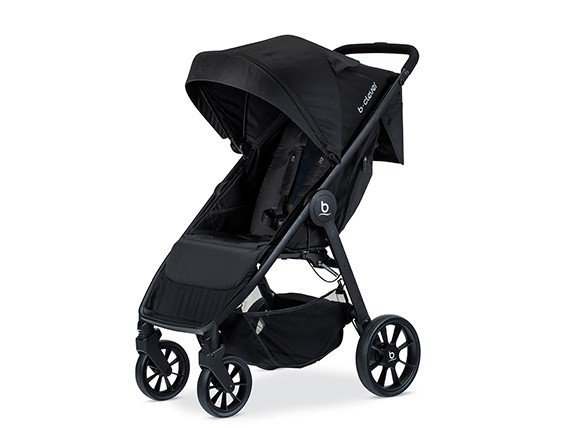 britax b-clever stroller front view pic