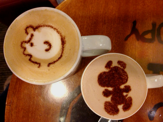 charlie brown cafe drinks menu pic
