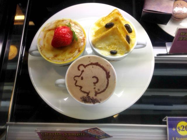 charlie brown cafe hong kong pic of treats