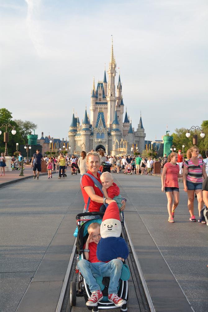 magic kingdom orlando with britax stroller