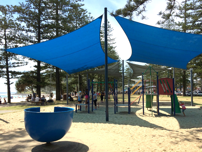 fun playgrounds gold coast justins park overview