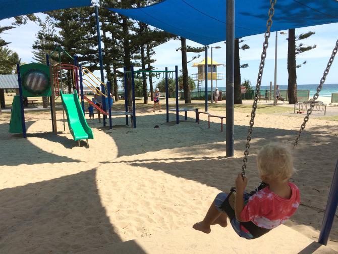 gold coast justins park swings