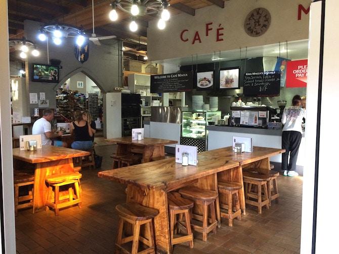 macadamia castle cafe in byron bay