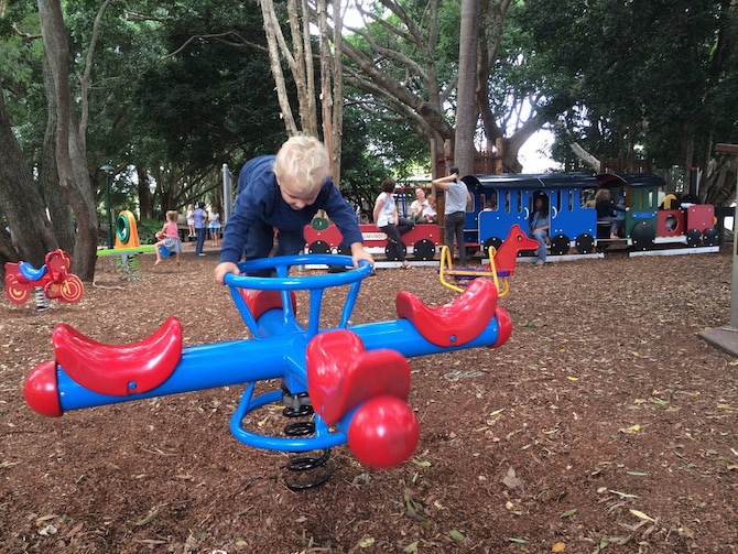 things to do in eumundi sunshine coast - dick caplick playground