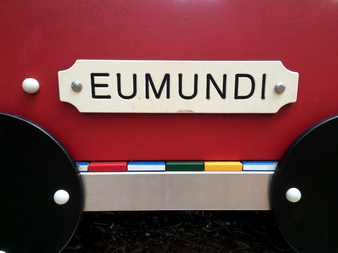 eumundi playground train