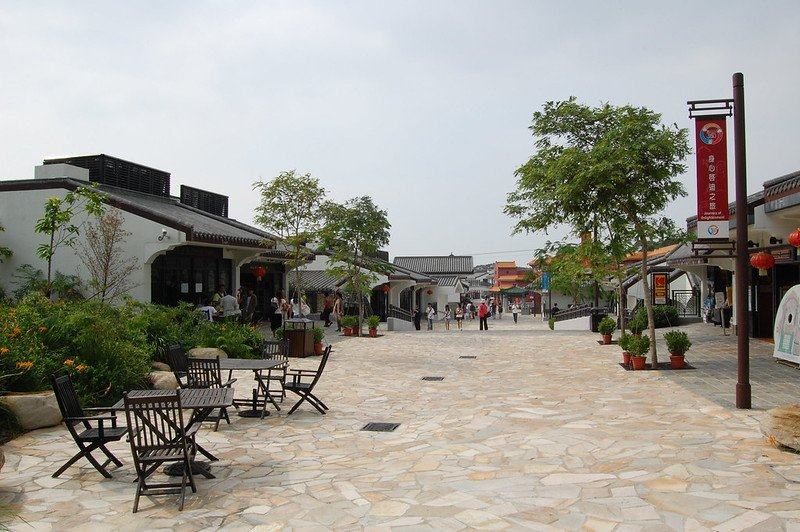 ngong ping village by edwin11