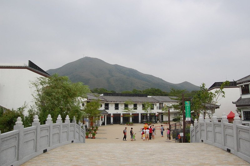 ngong ping village entrance by edwin 11