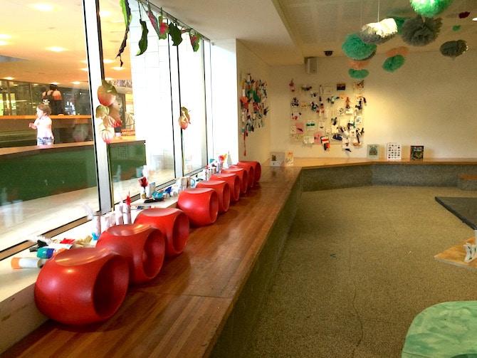 brisbane state library kids corner craft