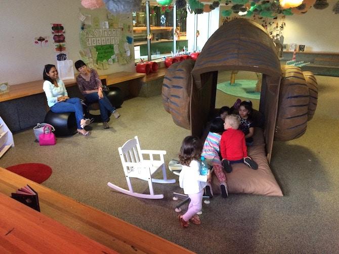 brisbane state library kids corner lounge