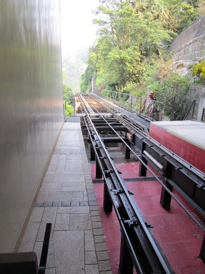 funicular railway hong kong rails by andrew baron