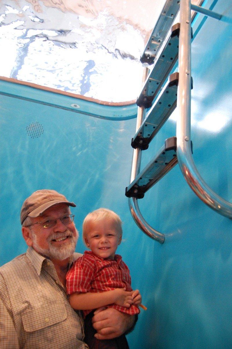 goma kids 2013 with grandpa