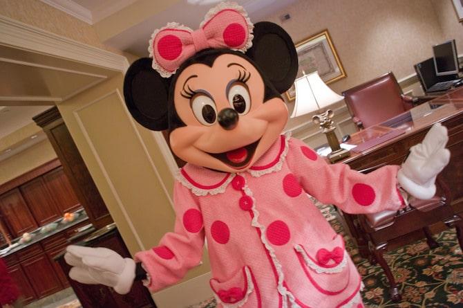 hong kong disneyland hotel - minnie mouse pic