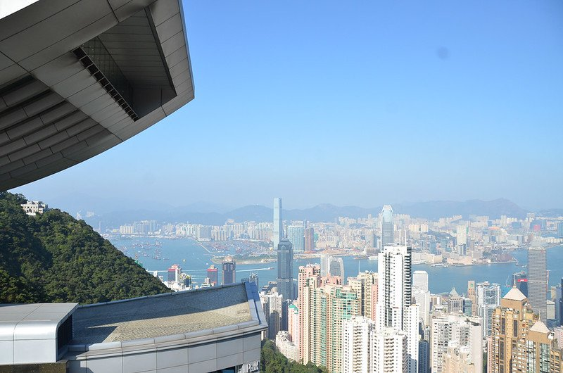hong kong from the peak pic by david wiley