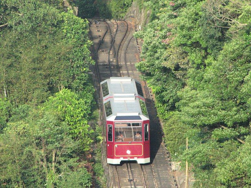 hong kong the peak tramways funicular ride by wiredtourist