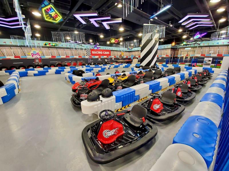 jumpin gym bumper cars by facebook