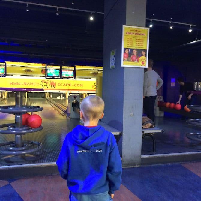 Namco bowling