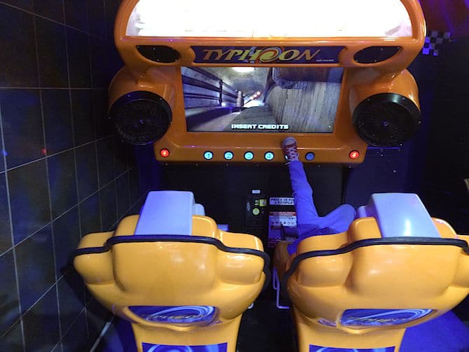 Namco Funscape London Review ned typhoon