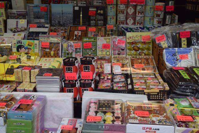 asakusa tokyo things to do mochi treats