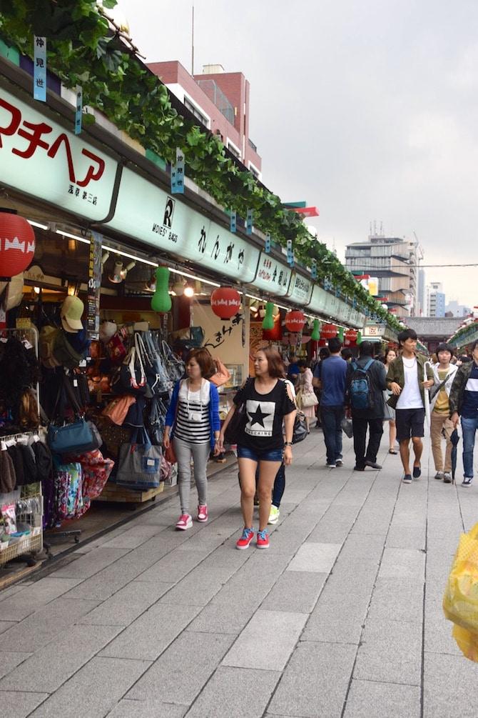 asakusa tokyo things to do shopping street