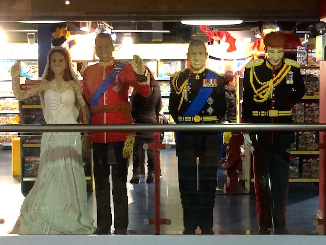 best toy store in london hamleys lego royal family pic