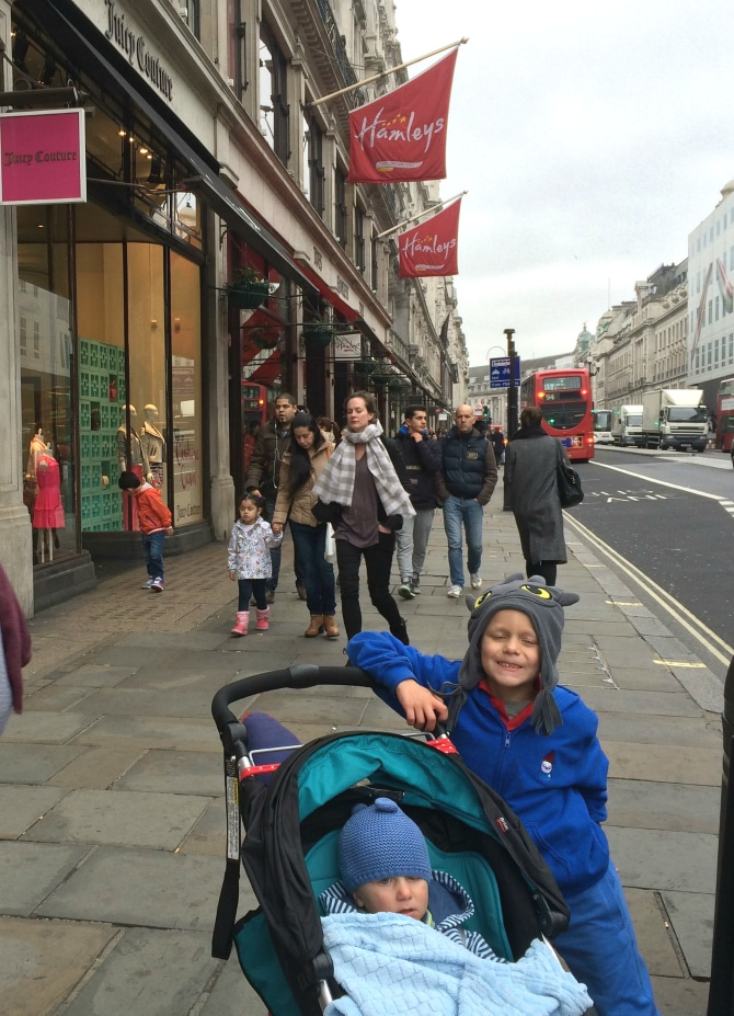 biggest and best toy store in london outside