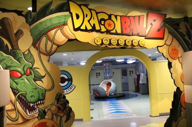 dragonball z ride j world tokyo