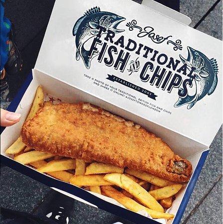 josefs fish and chips at tower bridge london