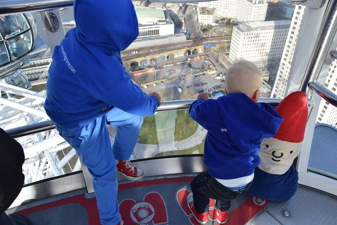 fun things to do in london with kids - london eye
