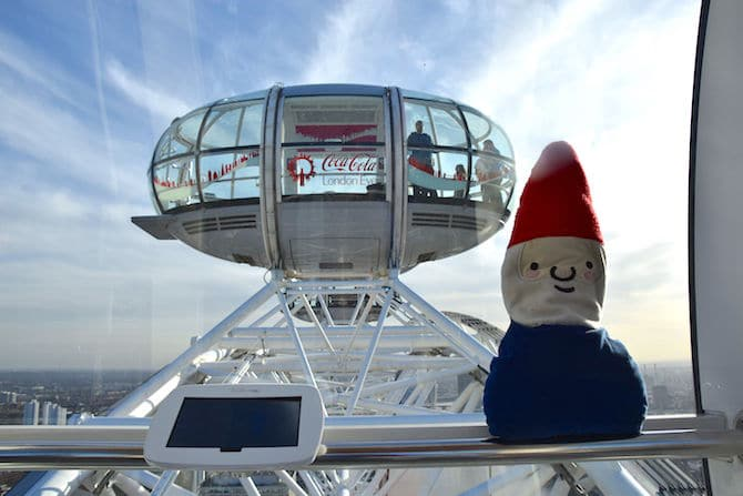 london eye for children roam the gnome riding