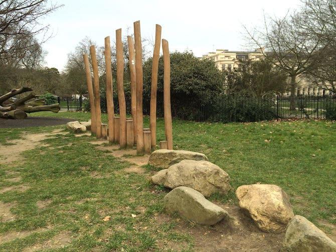 marylebone green playground just across - nature play