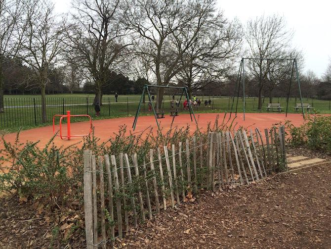 marylebone green playground swings
