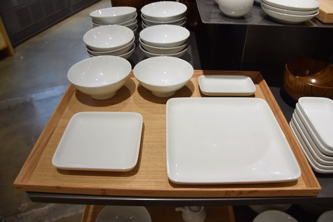 muji shibuya playroom dishes