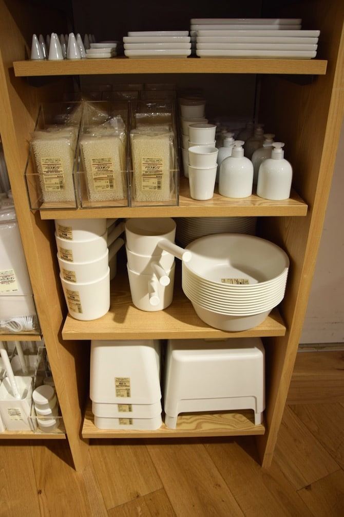 muji shibuya playroom japanese bath tools