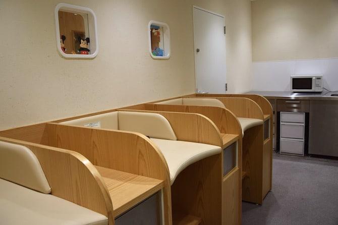 muji shibuya playroom nursing room
