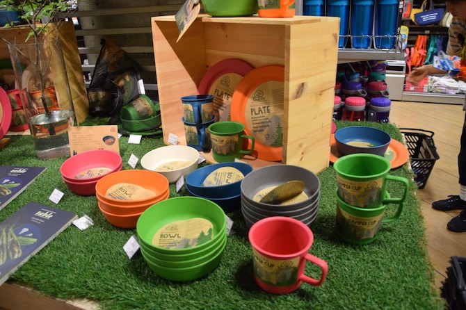 muji tokyo shibuya playroom recycled plastic cups