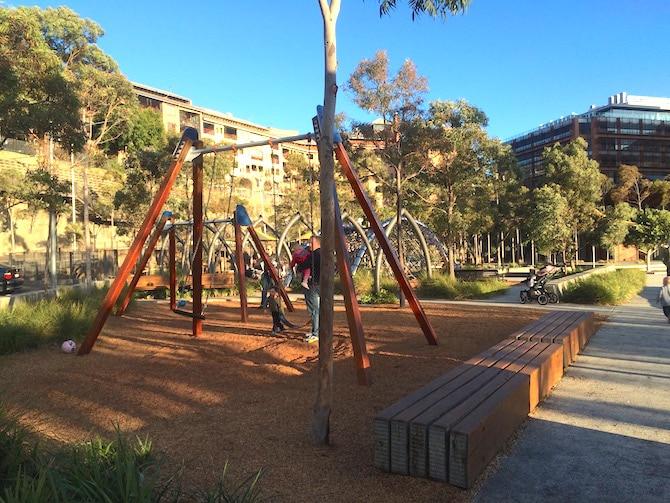 image - pirrama park playground swings