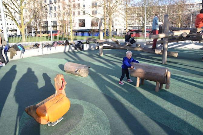 Jubilee park playground near London Eye - Jack